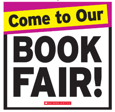 BHS Book Fair, Nov. 6 - 10
