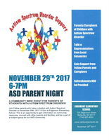 ASD Parent Night