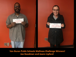 VBPS Wellness Challenge Winners