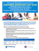DTE and Wayne Metro Offering Utility Assistance