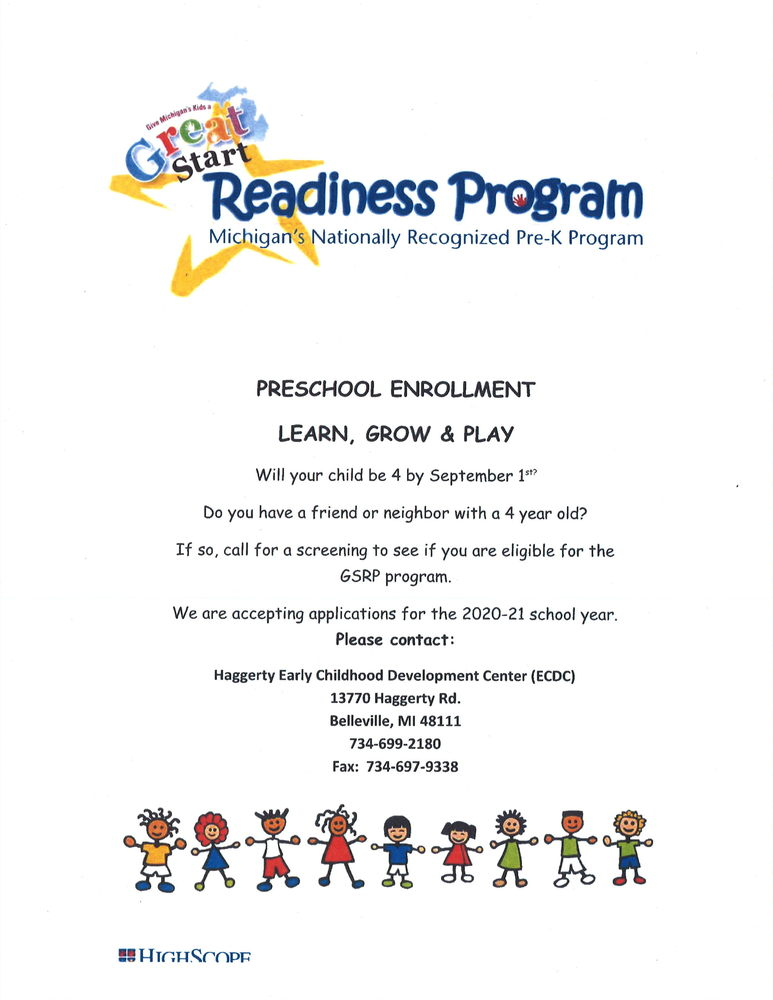 GSRP Preschool Enrollment