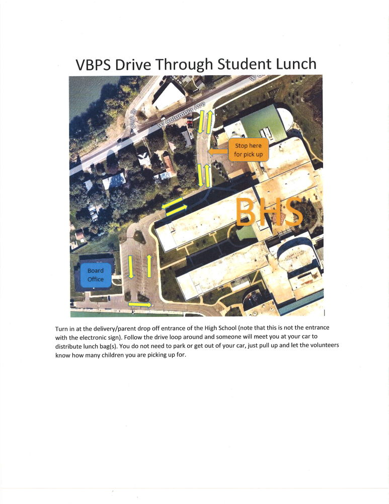 REVISED - VBPS Food Service Schedule