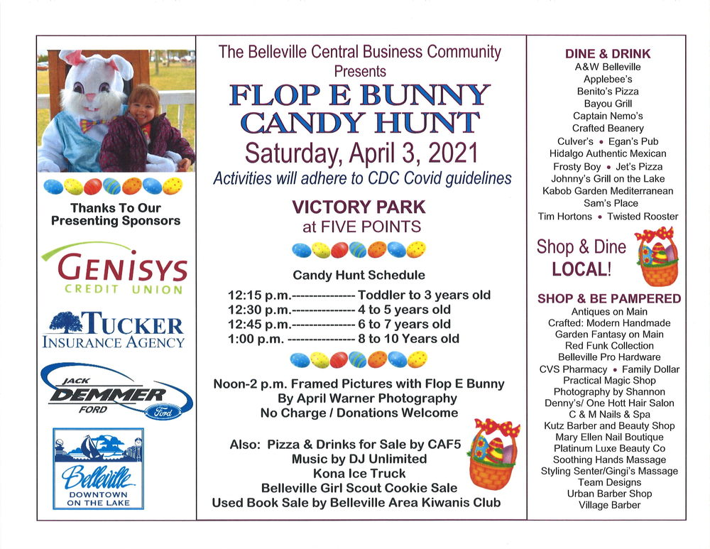 Flop E Bunny Candy Hunt