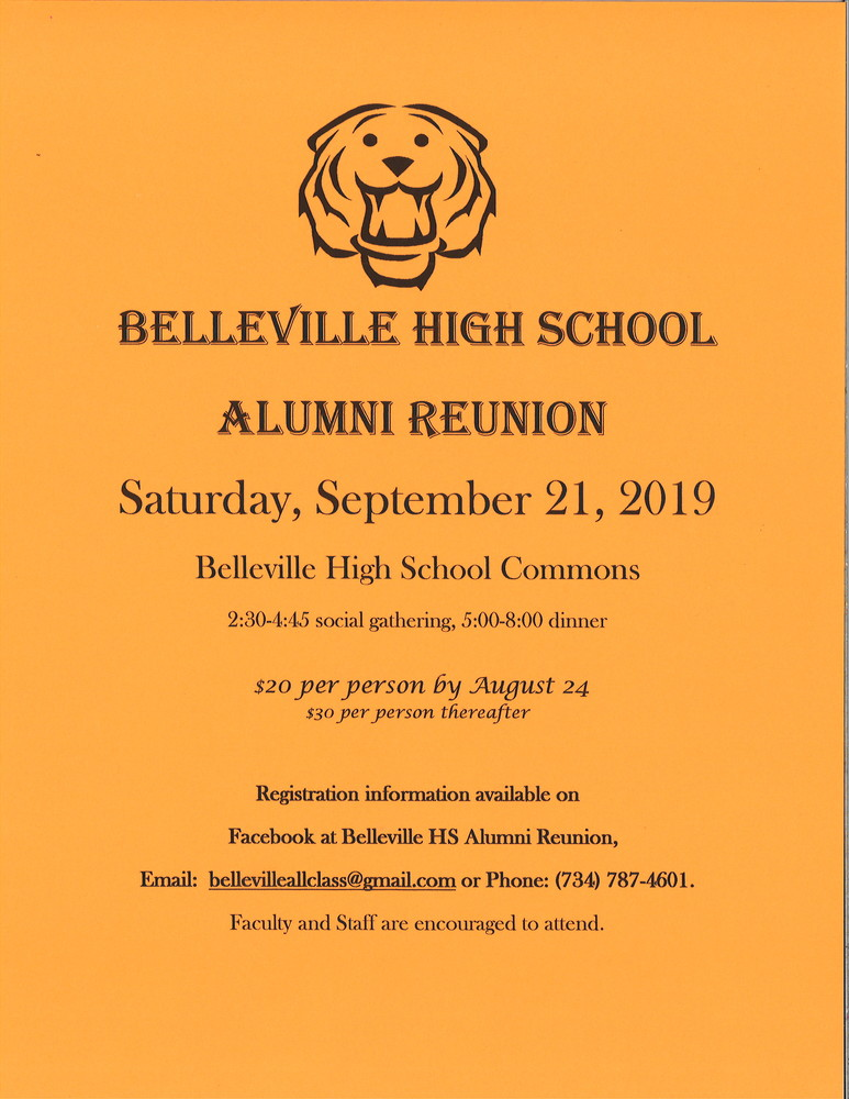 Belleville High School Alumni Reunion