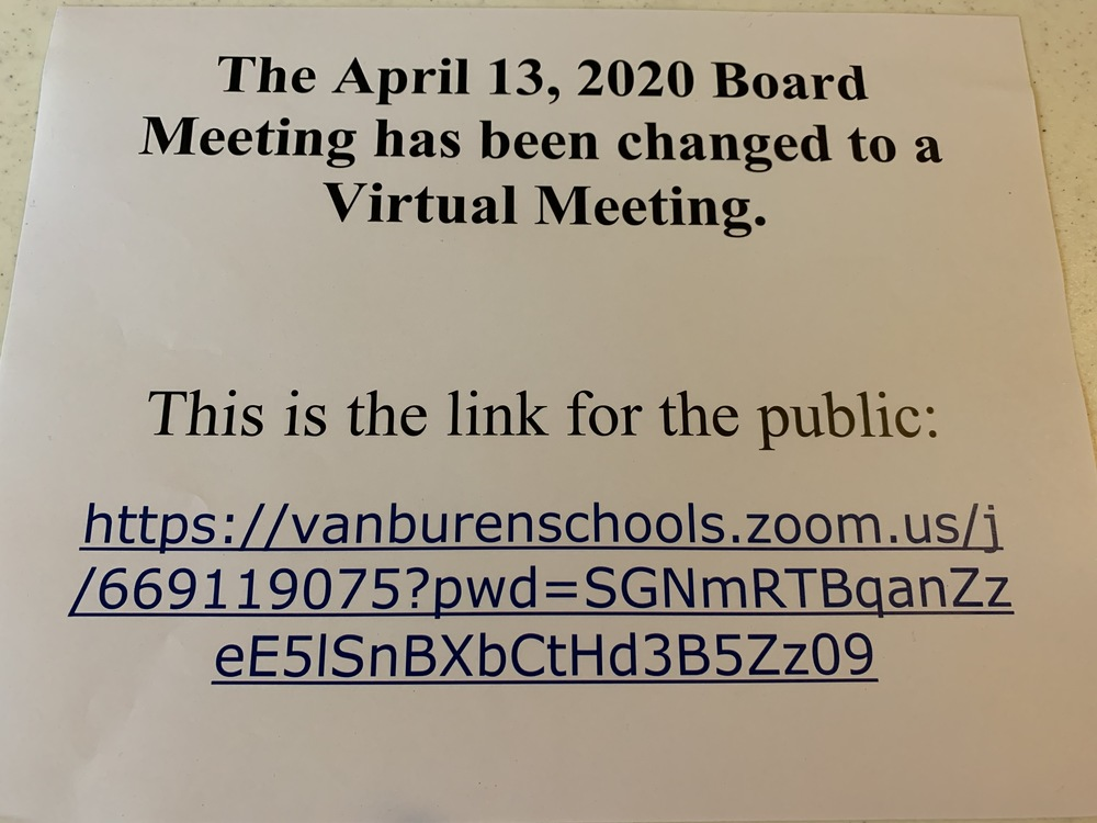 4.13.20 Board Meeting