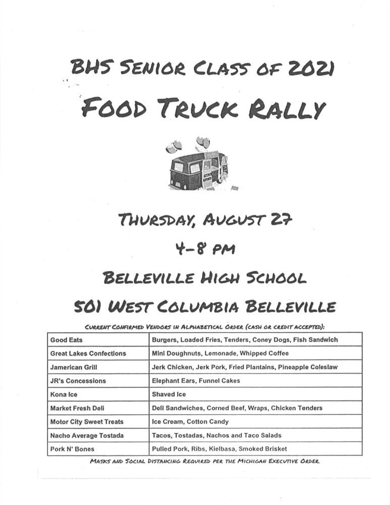 BHS Food Truck Rally