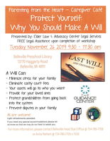 Protect Yourself - Why You Should Make a Will