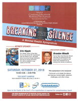 Breaking the Silence - A Mental Health Symposium