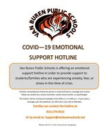 COVID-19 Emotional Support Hotline