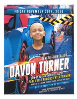 Davon Turner Benefit Dinner at Owen