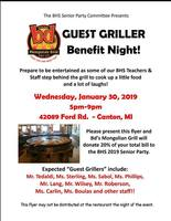 Guest Griller Senior Party Benefit Night