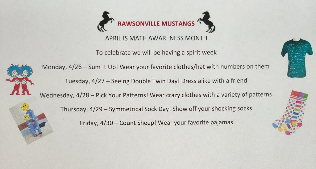 Math Spirit Week