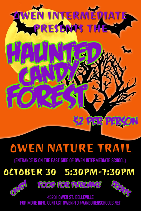 Owen Haunted Forest