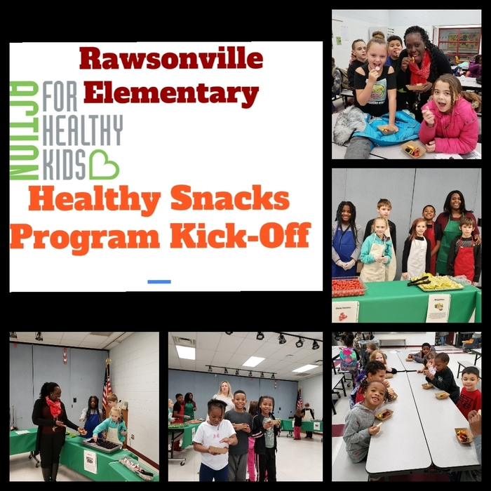 Healthy snacks for Rawsonville students.