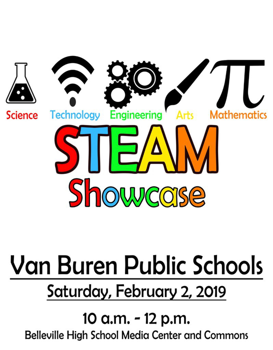 STEAM showcase flyer
