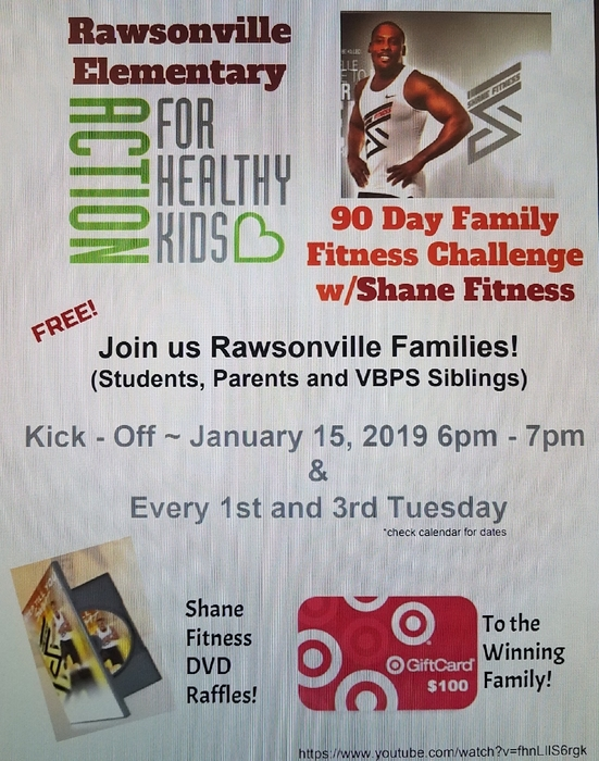 Rawsonville's Action for Healthy Families!