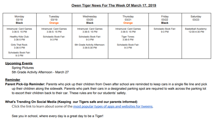 TigerNews3172019