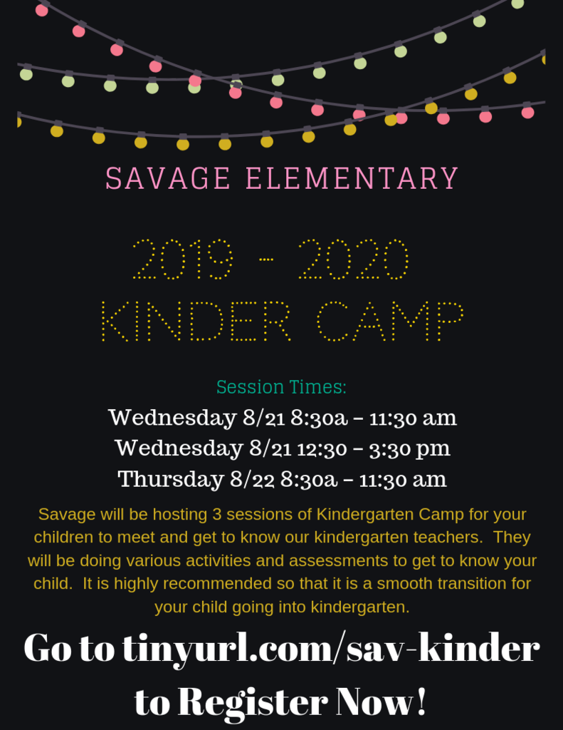 Savage Kindercamp