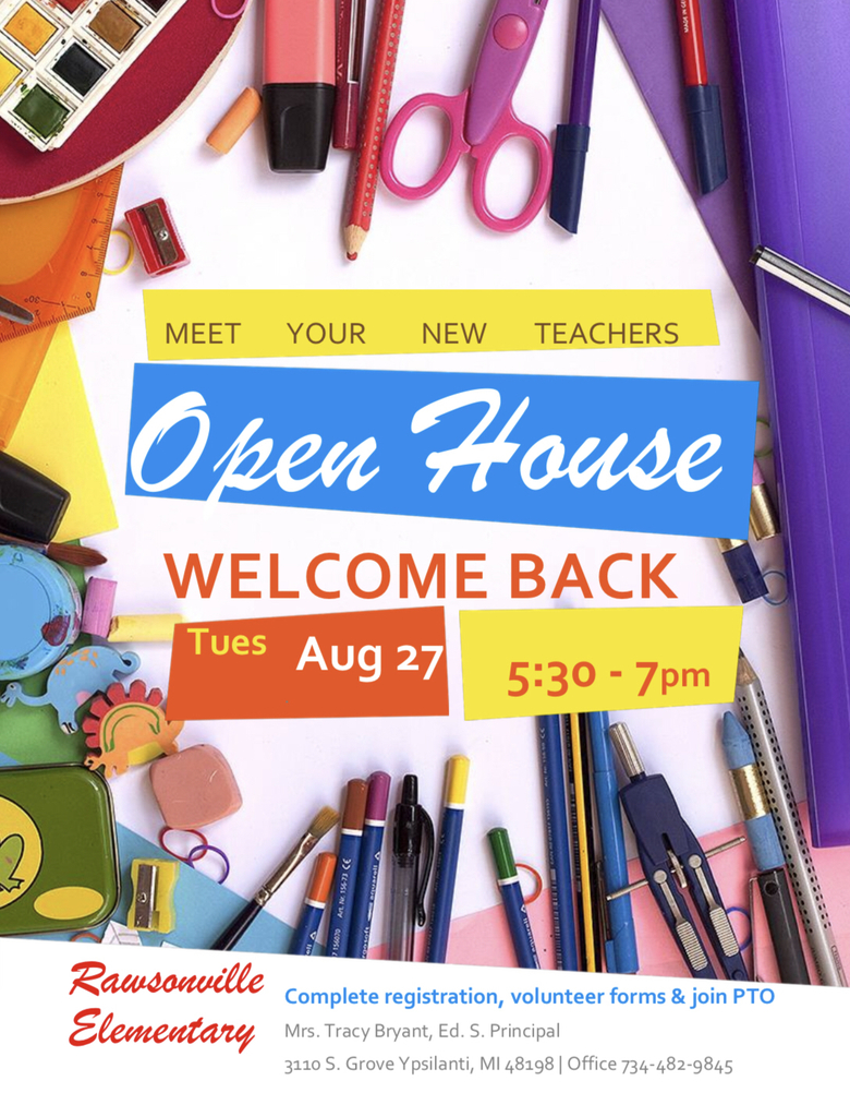 Mark your calendars for our upcoming Open House