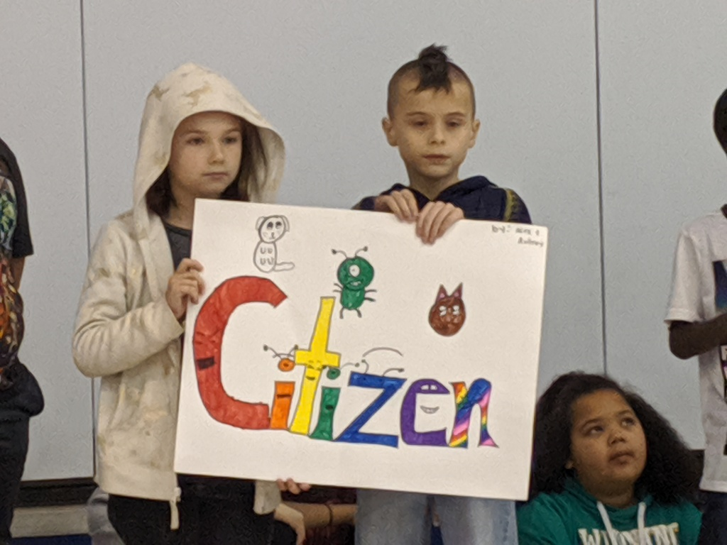 Third Grade Assembly Leaders
