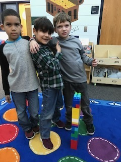 2nd Grade Lego Towers